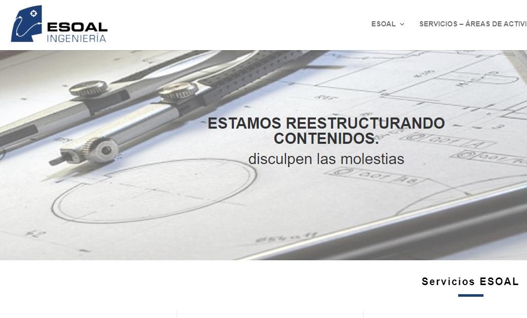 Actualizando la web de ESOAL